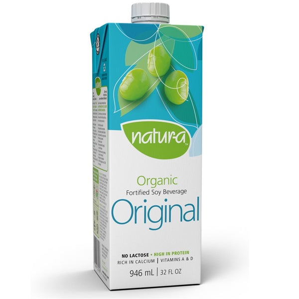 Natur-a Enriched Soy Beverage - Original (Organic), 946 ml.