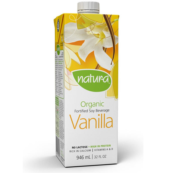 Natur-a Enriched Soy Beverage - Vanilla (Organic), 946 ml. (Expiry: Aug2020)