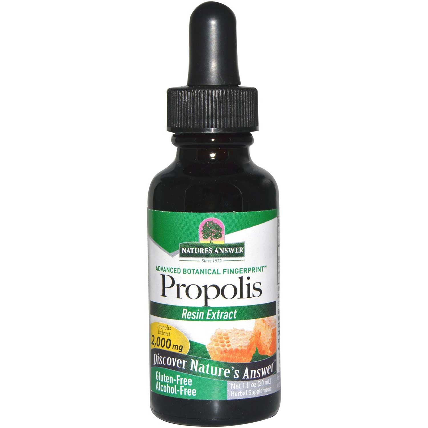 Nature's Answer Propolis Alcohol-Free Extract 2000mg, 30 ml.-NaturesWisdom