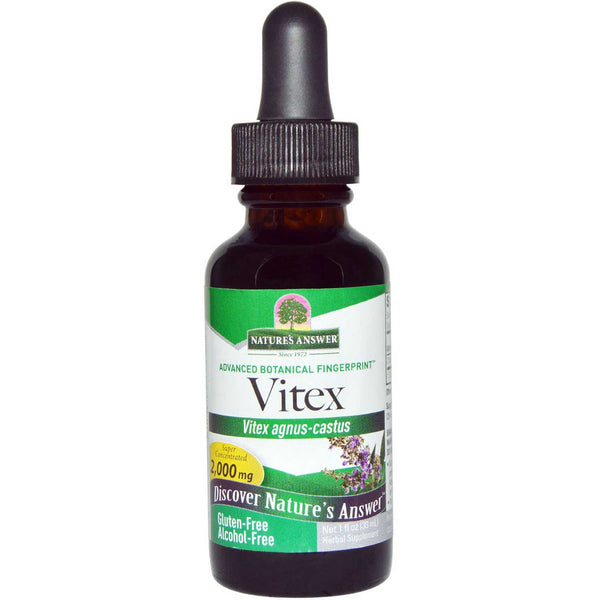 Nature's Answer Vitex Berry Alcohol-Free Extract, 30 ml.