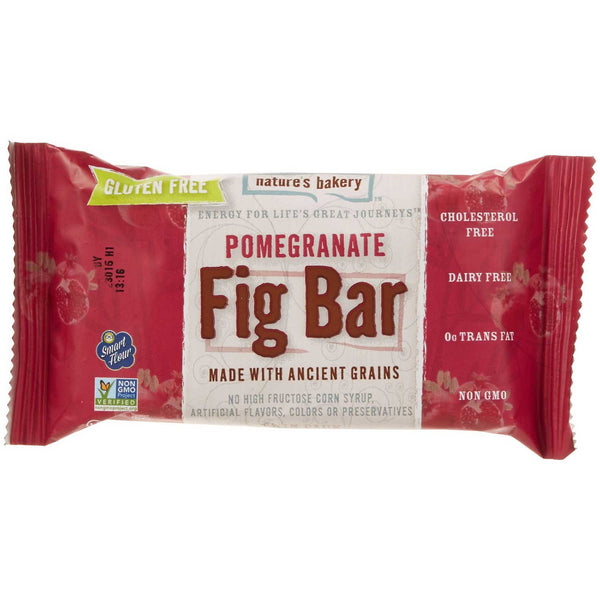 Nature's Bakery Pomegranate Fig Bar (Gluten-Free), 57g.
