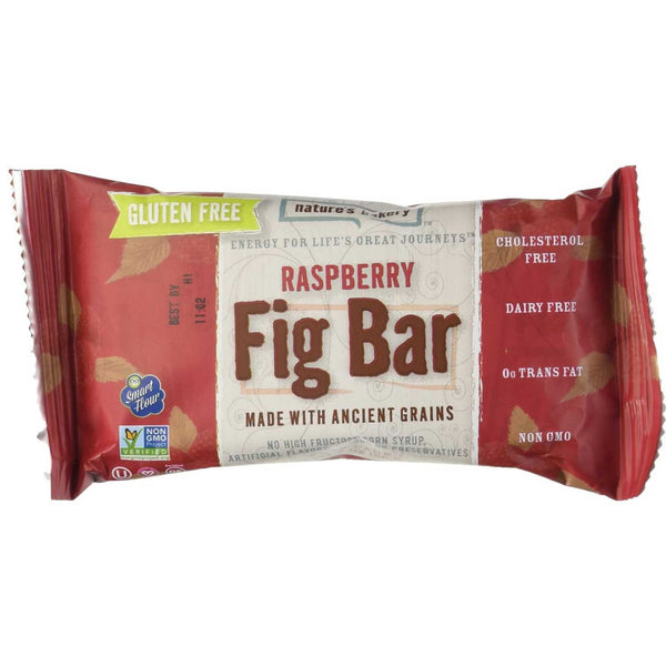 Nature's Bakery Raspberry Fig Bar (Gluten-Free), 57g.