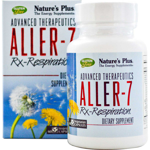 Natures Plus Aller-7 Rx-Respiration, 60 caps.
