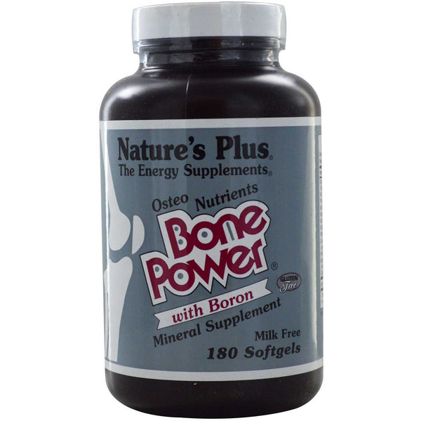 Natures Plus Bone Power (Osteo Nutrients w/Boron), 180 sgls.