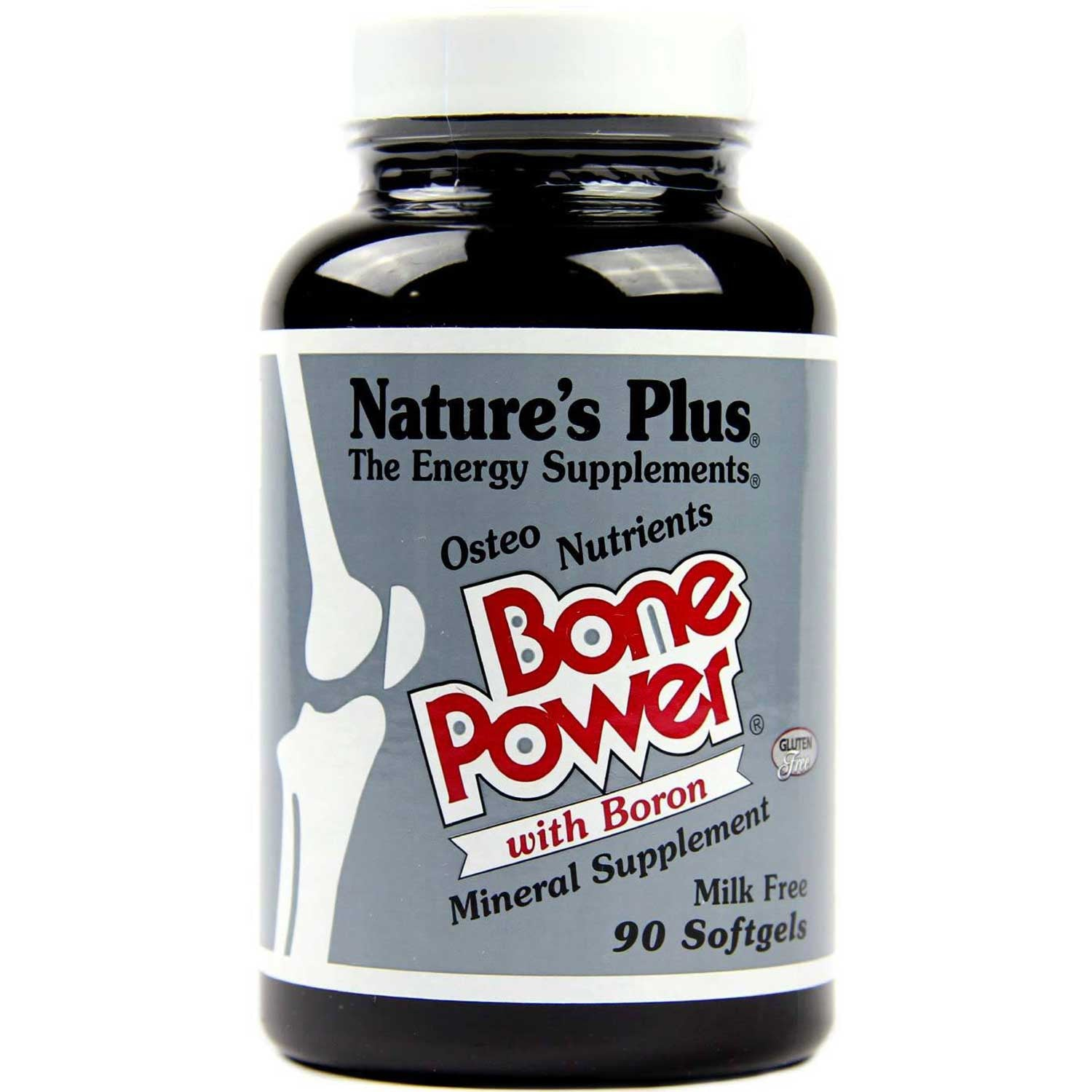 Natures Plus Bone Power (Osteo Nutrients w/Boron), 90 sgls.-NaturesWisdom
