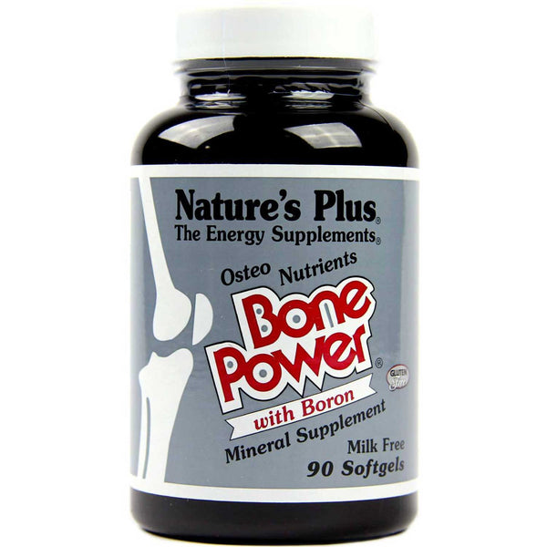 Natures Plus Bone Power (Osteo Nutrients w/Boron), 90 sgls.