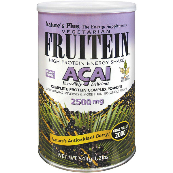 Natures Plus Fruitein Acai Shake, 544 g