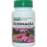 Natures Plus HerbalActives Echinacea 200 mg (Vcaps), 60 caps.