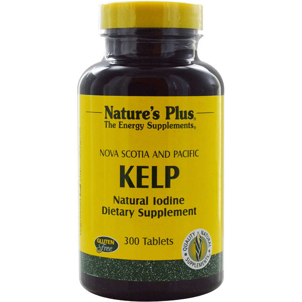 Natures Plus Kelp, 300 tabs.