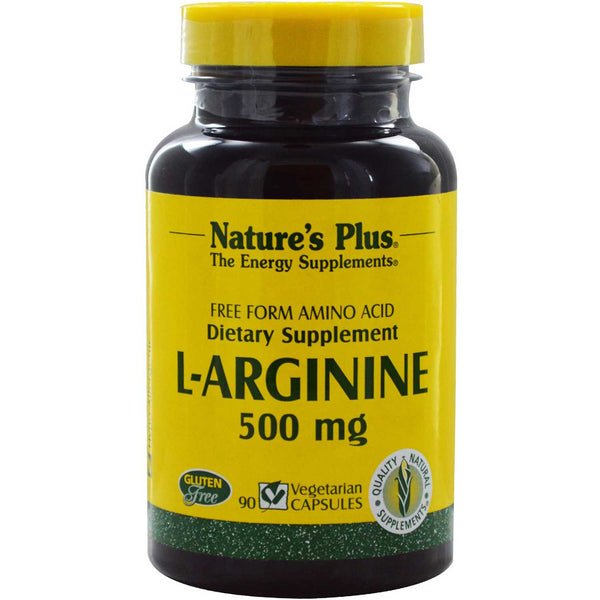 Natures Plus L-Arginine 500 mg, 90 caps.