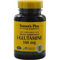 Natures Plus L-Glutamine 500 mg, 60 caps.-NaturesWisdom