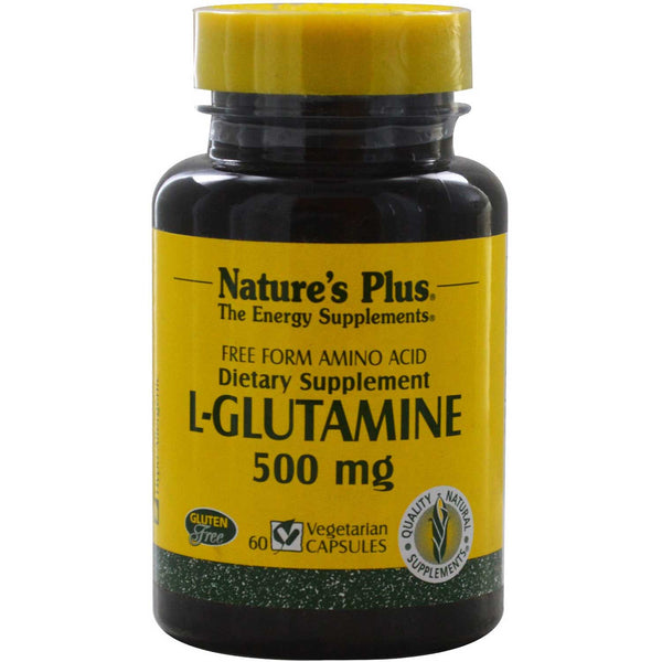 Natures Plus L-Glutamine 500 mg, 60 caps.
