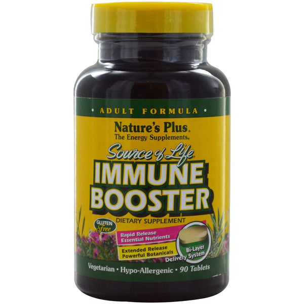 Natures Plus Source of Life Immune Booster - Adult Formula, 90 tabs.