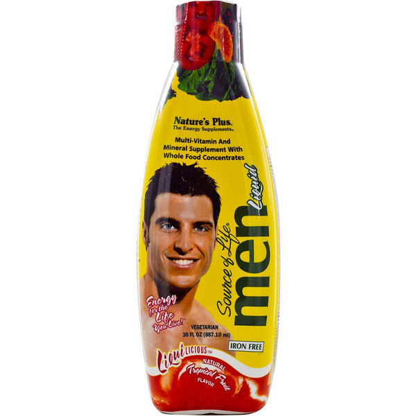 Natures Plus Source of Life Men Liquid - Tropical Fruit, 887.10 ml