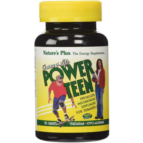 Natures Plus Source of Life Power Teen, 90 tabs.