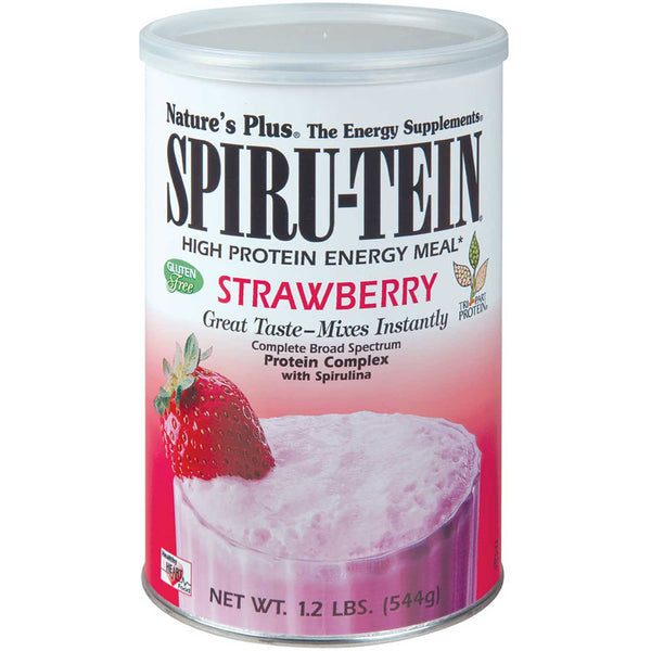 Natures Plus Spiru-tein Shake - Strawberry, 544 g