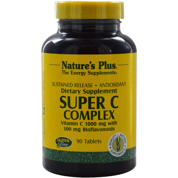 Natures Plus Super C Complex Sustained Released, 90 tabs.
