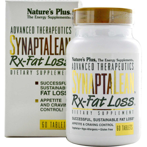 Natures Plus SynaptaLean Rx-Fat Loss, 60 tabs.