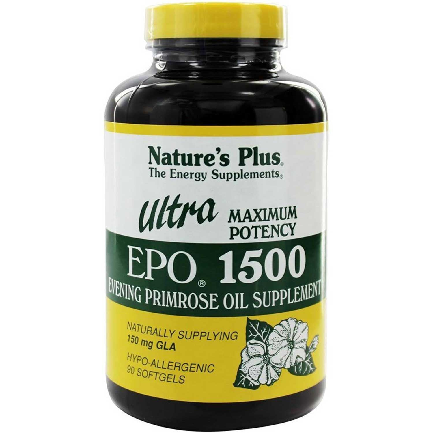 Natures Plus Ultra EPO 1500 mg, 90 sgls.-NaturesWisdom