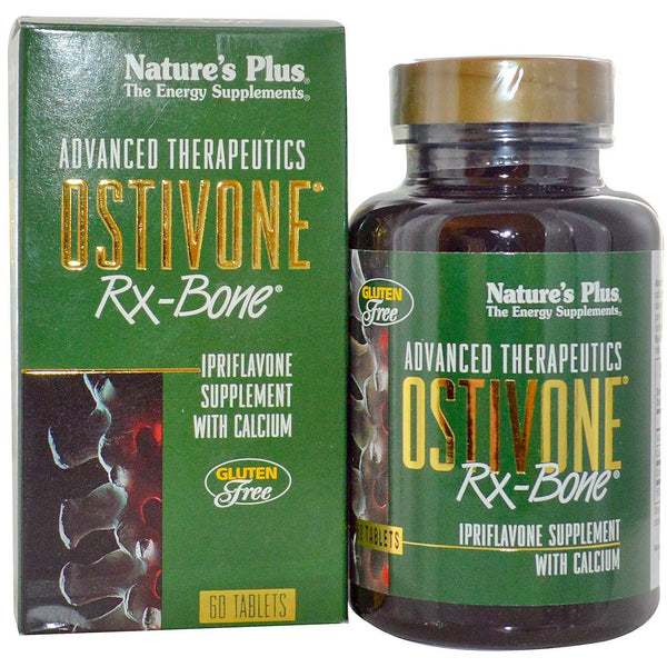 Natures Plus Ostivone Rx-Bone, 60 tabs.