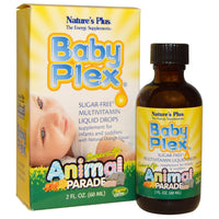 Natures Plus Source of Life Animal Parade Baby Plex, 60 ml