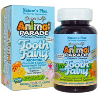 Natures Plus Source of Life Animal Parade Tooth Fairy Children's Chewable - Vanilla, 90 tabs.-NaturesWisdom