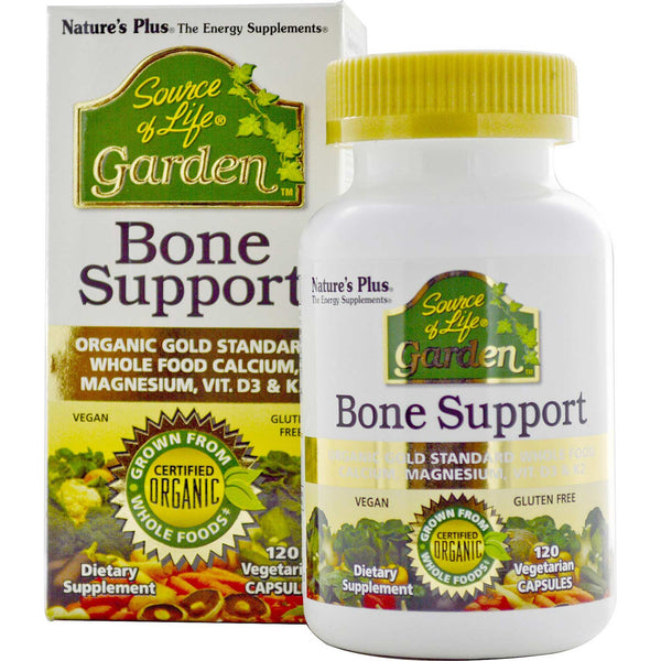 Natures Plus Source of Life Garden Bone Support w/ AlgaeCal, 120 caps.