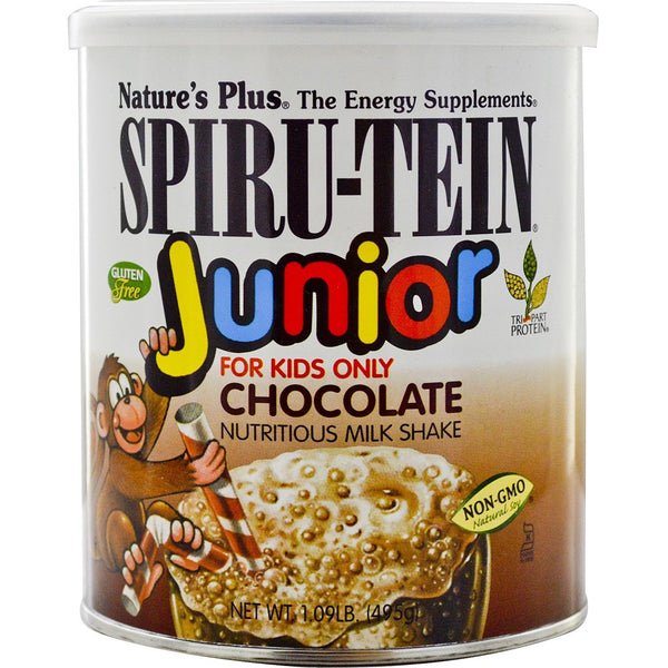 Natures Plus Spiru-Tein Junior Shake - Chocolate, 495 g