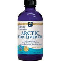 Nordic Naturals Arctic Cod Liver Oil - Plain, 237 ml.-NaturesWisdom