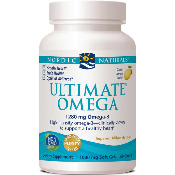 Nordic Naturals Ultimate Omega 1000 mg - Lemon, 60 sgls.