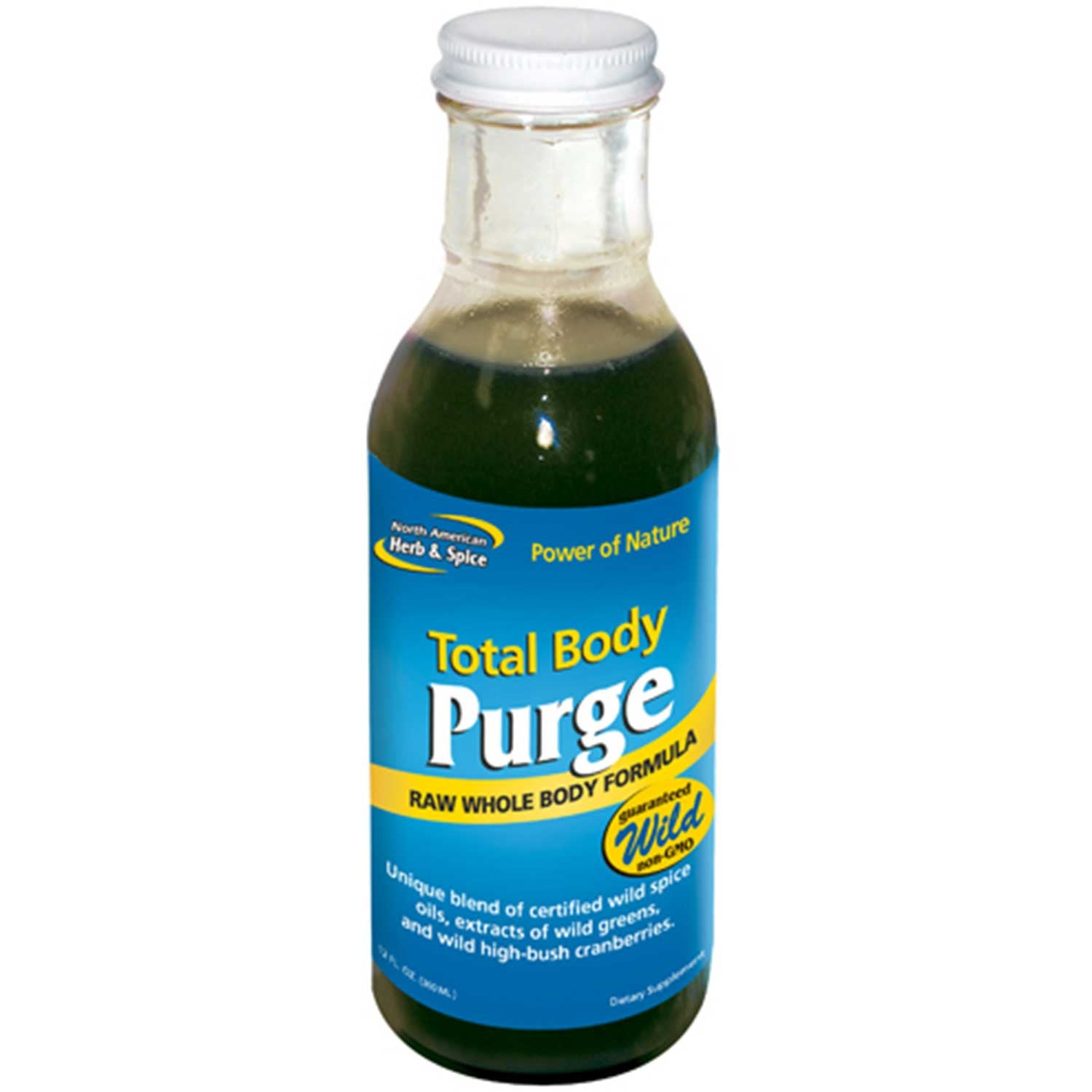 North American Herb & Spice Total Body Purge, 355 ml.-NaturesWisdom