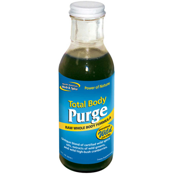 North American Herb & Spice Total Body Purge, 355 ml.
