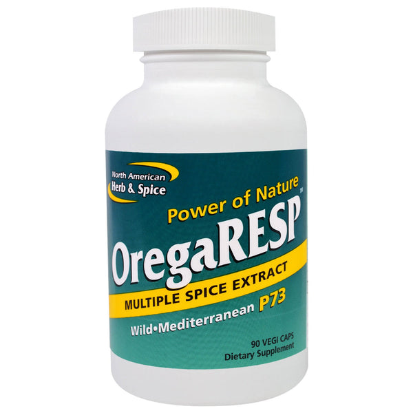 North American Herb & Spice OregaRESP P73 450 mg (Vegi), 30 caps.