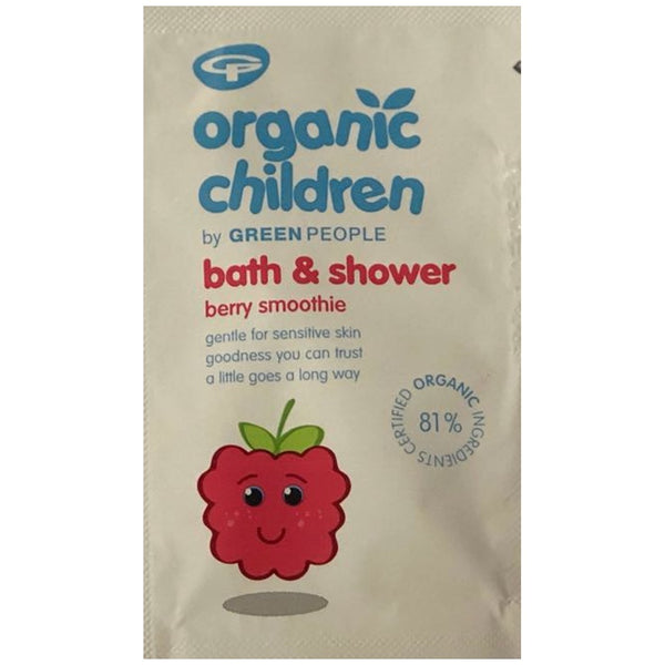 FREE SAMPLE Organic Children Bath & Shower Berry Smoothie