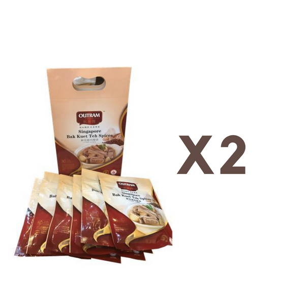[Promotion] Singapore Bak Kuet Teh Spices - Gift Set (6 X 30g) X 2
