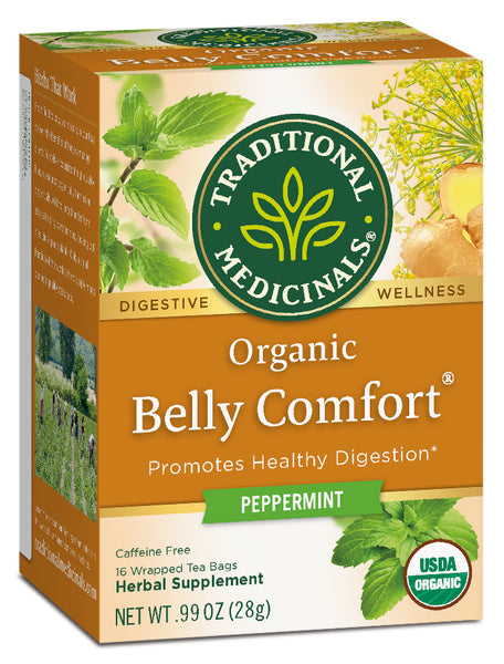 Traditional Medicinals Belly Comfort, 16 bags