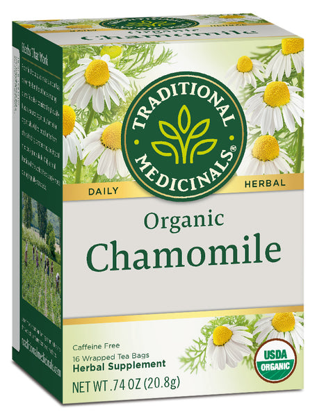 Traditional Medicinals Organic Chamomile Tea, 16 bags