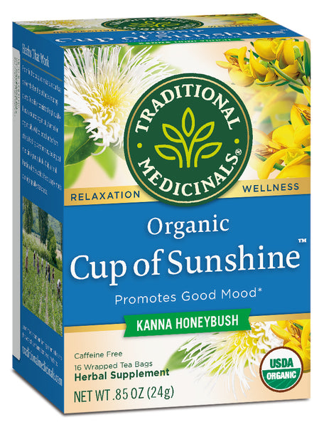 Traditional Medicinals Cup of Sunshine, 16 bags