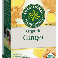 Traditional Medicinals Organic Ginger Tea, 16 bags