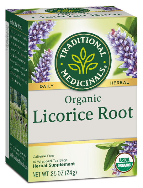 Traditional Medicinals Organic Licorice Root, 16 bags