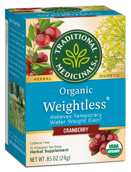 Traditional Medicinals Weightless Cranberry, 16 bags
