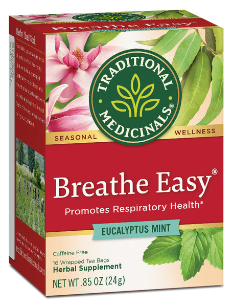 Traditional Medicinals Breathe Easy Tea, 16 bags
