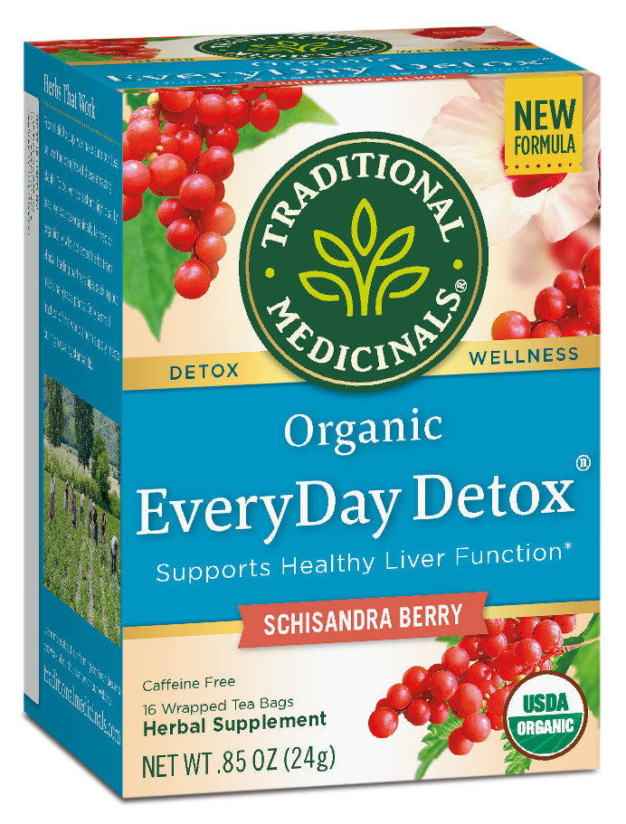 Traditional Medicinals EveryDay Detox Tea, 16 bags