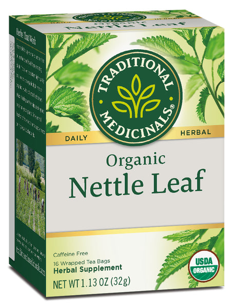 Traditional Medicinals Organic Nettle Leaf, 16 bags