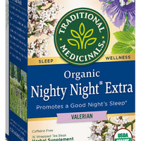 Traditional Medicinals Nighty Night Extra, 16 bags