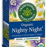 Traditional Medicinals Organic Nighty Night Tea, 16 bags
