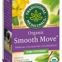 Traditional Medicinals Organic Smooth Move Peppermint Tea, 16 bags