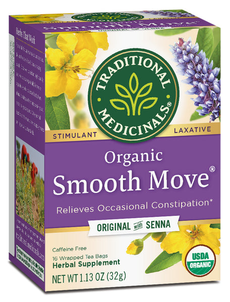 Traditional Medicinals Organic Smooth Move Tea, 16 bags