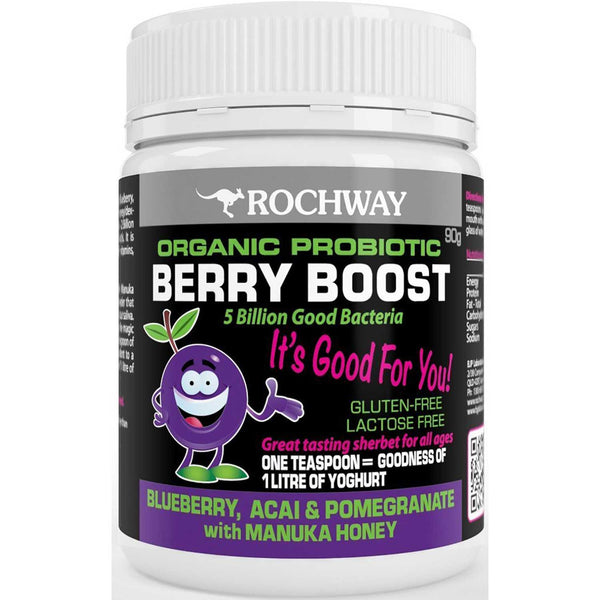 Rochway Berry Boost Probiotic, Powder, 90 g.