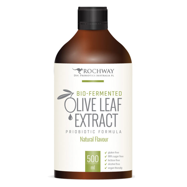 Rochway Olive Leaf Extract with MultiplyPlus, 500ml.